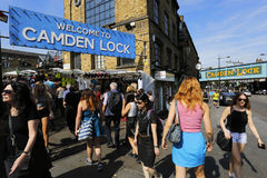 London Camden Market Royalty Free Stock Photos