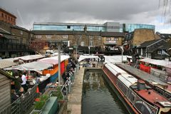 London Camden Town Royalty Free Stock Photo