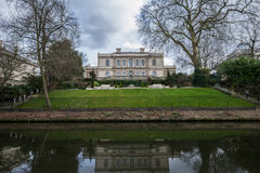 London Canal Mansion Royalty Free Stock Image