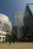 London Canary Wharf Stock Photography