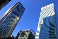 London Canary Wharf royalty free stock images
