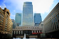 London Canary Wharf Stock Image