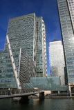 London Canary Wharf Royalty Free Stock Photo