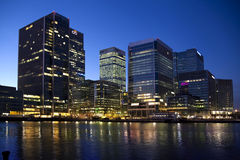 LONDON, CANARY WHARF GROSSBRITANNIEN Lizenzfreies Stockbild