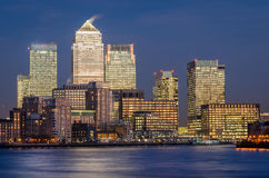 London, Canary Wharf Royalty Free Stock Photo