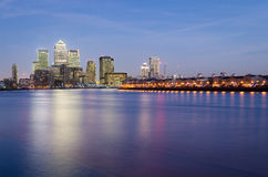 London, Canary Wharf Stock Image