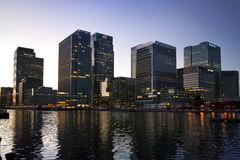 LONDON, CANARY WHARF UK Royalty Free Stock Photos