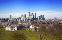 LONDON, CANARY WHARF UK Royalty Free Stock Photography