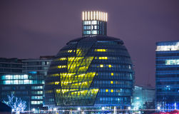 London. Capital of England City Hall modern architecture Stock Photography