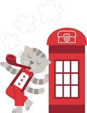 London cat Stock Photo