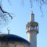 London Central Mosque Royalty Free Stock Photography