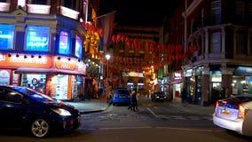 London ChinaTown at night - LONDON, ENGLAND - DECEMBER 11, 2019