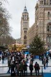 London Christmas celebrations Stock Photo