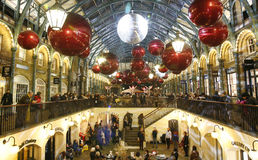 2013, London Christmas Decoration, Covent Garden Stock Photos