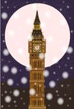 London Christmas Eve Royalty Free Stock Photography