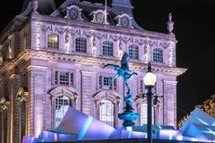 London Christmas lights Royalty Free Stock Image