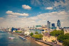 London City stock image