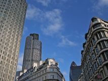 London city. Business buildings in the City royalty free stock photo