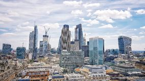 London city. City of London Stock Images