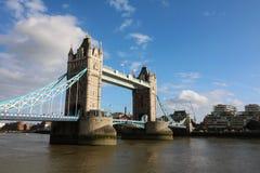 Tower bridge. London city bridge Royalty Free Stock Images