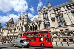 London city bus Stock Photos