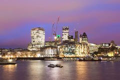 London city center, United Kingdom. Royalty Free Stock Photography