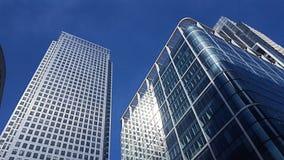 London city centre. Canary Wharf London Stock Photography