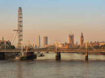 London city at dawn. Stock Photography