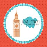 London city design Royalty Free Stock Photo