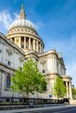London city / England: St. Paul`s Cathedral royalty free stock image