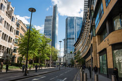 London City, financial centre Stock Photos