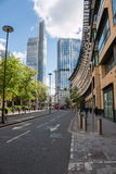 London City, financial centre Royalty Free Stock Photos