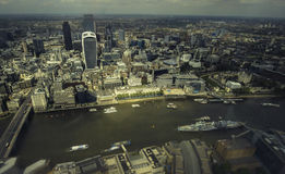 London city financial skyline Stock Photos