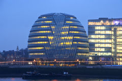 London City Hall. New City Hall of London on the Thames Royalty Free Stock Images