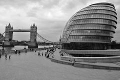 The London City Hall Building Royalty Free Stock Image