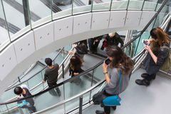 LONDON, City Hall interior. Staircase Royalty Free Stock Photography