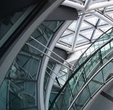 LONDON, City Hall interior. Staircase Royalty Free Stock Image