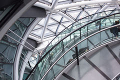 LONDON, City Hall interior. Staircase Stock Images
