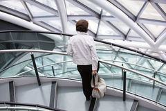 LONDON, City Hall interior. Staircase Stock Image