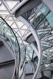 LONDON, City Hall interior. Staircase Stock Photos