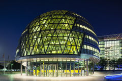 London City Hall at night, editorial Royalty Free Stock Photo