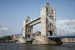 London City historic big Tower bridge sunny day 2 Stock Image