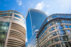 LONDON. City of London office buildings Royalty Free Stock Image