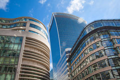 LONDON. City of London office buildings Stock Images
