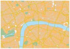 London city map Royalty Free Stock Photo