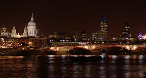 London city night scenic Stock Photo