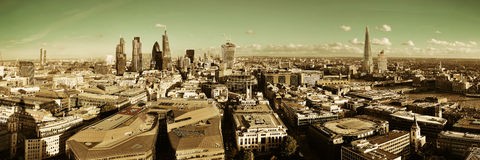 London city rooftop royalty free stock photography