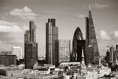 London city rooftop Royalty Free Stock Image