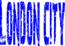 London city sign Stock Image