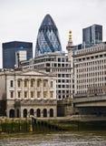 London city skyline. View of london city, St Marys Royalty Free Stock Photos